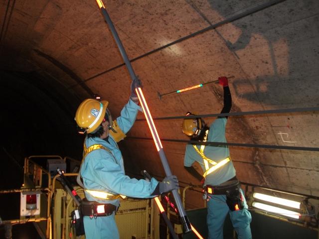 トンネル検査